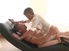 British MILF Enjoying Her Young Lover