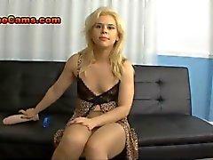 Blonde Teen Jerk Off Instruction