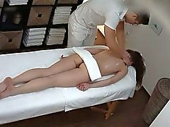 Beautiful Teen on Massage