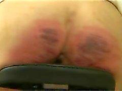 Spanked Girl in byke