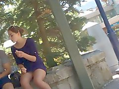 Almost Teen Upskirt (urrgghh!)