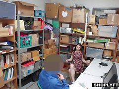 Shoplyfter - Hot Teen Gets Punished For Stealing