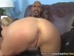 Teen Paris Gables takes BBC in front of not her father