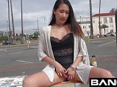 BANG Amateur Asian Teen Pussy Drilled Hard