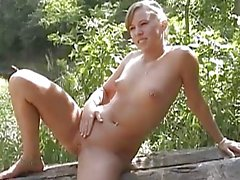 Sexy Teen Naked In The Woods