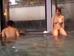 Big Japanese Boobs in shower