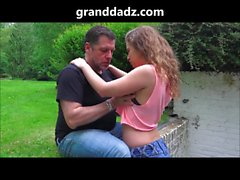 granddadz Bunny Babe gets a face full