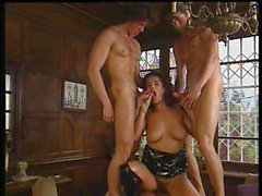 Gangbang scene Dirty Sisters (1995) Angelica Bella