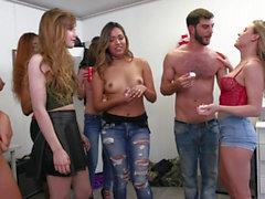 Non-stop sex party