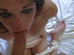 Bound Deep-Throat and FACIAL