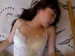 Beautiful Japanese teen has her boyfriend hammering her tig