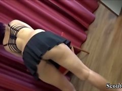 Skinny German Ebony Whore Seduce to Fuck for Money