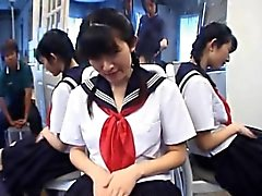 Teen Kazuha Mizumori loves masturbating at school