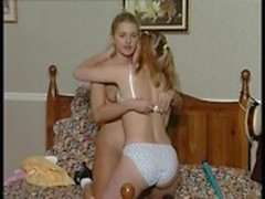 young lesbians enjoy themselves.