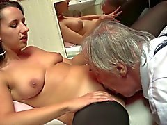Old man visits prostitute