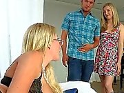 Karla Kush and Jennifer Best threesome