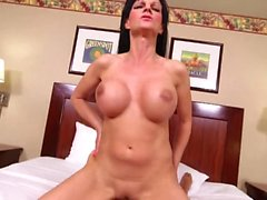 Hot milf and her younger lover 300