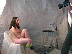 Young model fucked by a photographer