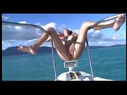 Girlfriend Flashing on Boat BVR