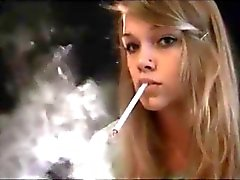 Gorgeous Smoking Girl