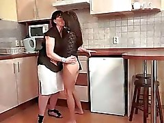 Grandmas and Young Girls Pussy Licking Compilation