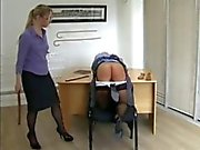 Katie The Only Girl Caned At School xLx