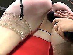 Busty girl oral sex orgasm