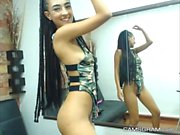 Pretty Hot Teen Camslut Playing On Webcam