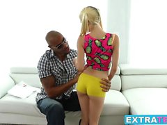 Petite teen Piper Perri gets destroyed by a huge black dick