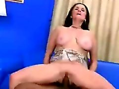 Granny takes BBC up her ass