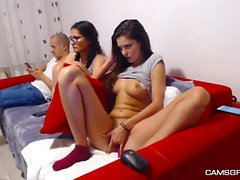 Hot Brunette Whore Awesome Webcam Show