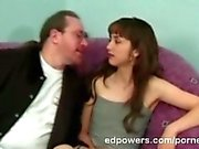 Hot latina teen shows her suck cock moves to ed powers