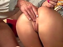 Big boobs pornstar gagging