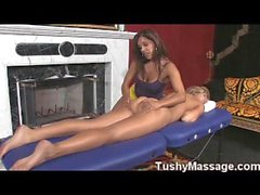 Milf and Teen Massage