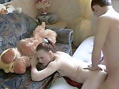 Exploiting amazing babes luscious arse gap