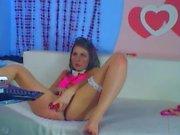 RaspberryGirl aka RaspberryBaby_play with toy