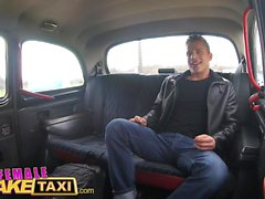 Female Fake Taxi Young stud speed fucks wet shaven pussy