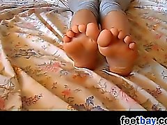 My Young GF Teases Her Feet And Soles