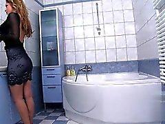 Italian mom pussy spanking