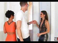 Horny Rich Teens Jada Stevens, Riley Reid