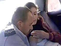 security plays in her nipples Jordan girl in car