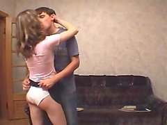 Amateur couple sex playing