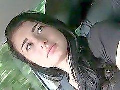 Teen Anna nailed n jizzed on a car hood