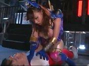 Evil Villain Queen Enslave Hero Hamasaki Mao