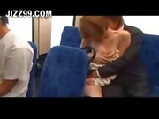 cute jap teen gagged blowjob by geek