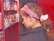 Sexy French Shop Girl Caught Naked And Fucked !