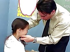 InnocentHigh Teacher banging skinny Asian teens ti