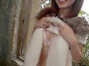 Cute teen getting her wet muff fondled a bit