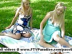 Yana and sandy from ftv girls two hot blonde babes go on a
