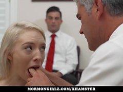 Mormongirlz - Teen have to masturbate in bishops office